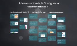 Administracion de la Configuracion
