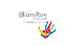 HAMILTON PRESCHOOL 14/15