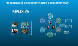 Copy of REPRESENTACIÓN REFLEXIVA DEL DOCUMENTAL