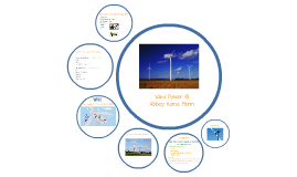 Short Presentation on Wind Power @ Abbey Home Farm