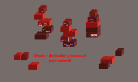 SPC1017 7 Words - the building blocks of your speech!