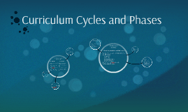 Curriculum Cycles and Phases