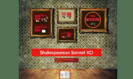 Shakespearean Sonnet XCI