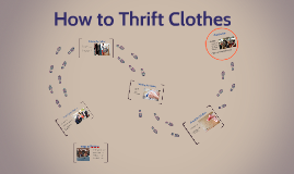 How to Thrift Clothes