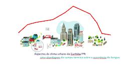 Aspectos do clima urbano de Curitiba/PR: