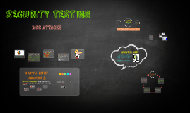 Copy of Security testing - XSS attacks