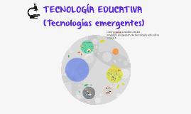 TECNNOLOGÍA EDUCATIVA
