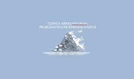 CUENCA ABREO-MALPASO, PROBLEMÁTICA DE RESIDUOS SÓLIDOS