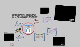 Health and Wellness - COMMUNICATION
