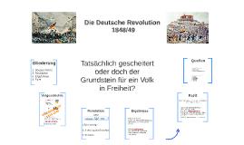 Die deutsche Revolution 1848/49