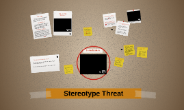 Sterotype threat