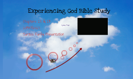 Experiencing God Bible Study