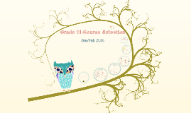 Copy of Copy of Copy of Grade 11 Course Selection