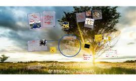 Teorías del origen del hombre americano