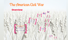 The American Civil War overview