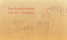 Copy of Plan de estabilización 1978-1979