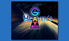 Heaven's Gate Cult