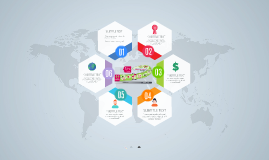 Hexagon Infographic - Free Prezi Template