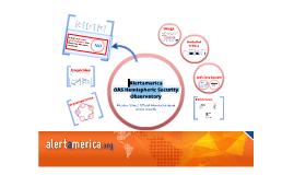 Alertamerica: OAS Hemispheric Security Observatory