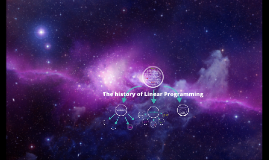 Copy of Linear Programming History (background)