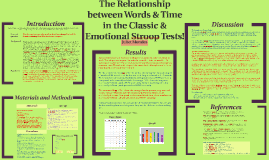 Stroop & Emotional Stroop Tests