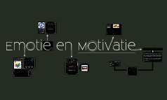 Les 4, Groep D, Thema 4 - Emotie & Motivatie