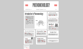 Copy of PHENOMENALISM