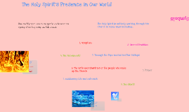 The Holy Spirit's Presence in Our World