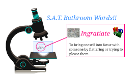 S.A.T. Bathroom Words!!
