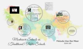 Montessori Schools vs. Public Schools