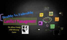 Healthy Vs. Unhealthy Conflict Management
