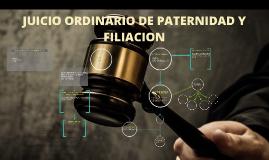 Copy of JUICIO ORDINARIO DE PATERNIDAD Y FILIACION