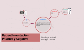 Copy of Retroalimentación positiva y negativa