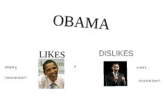 Obama likes/dislikes