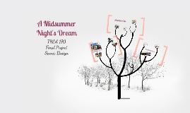 Midsummer Night's Dream Production Overview