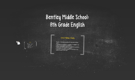 Bentley Middle School Humanities