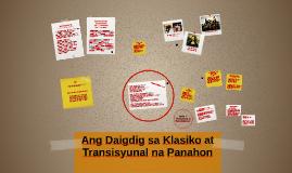 Ang Daigdig sa Klasiko at Transisyunal na Panahon