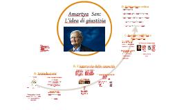 Amartya Sen e L'idea di giustizia