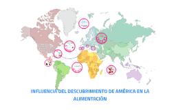 Copy of INFLUENCIA DEL DESCUBRIMIENTO DE AMÉRICA EN LA ALIMENTACIÓN