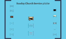 Sunday Church Service 3/17/19