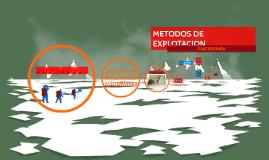 MÉTODOS DE EXPLOTACIÓN SUBTERRANEA