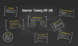 Volunteer Training 2017-2018