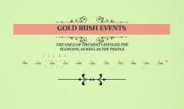 GOLD RUSH EVENTS