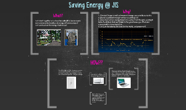 Saving Energy @ JIS