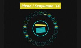 Pleno I Senyuman '14