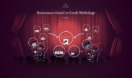 Businesses related to Greek Mythology
