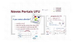 Portal da UFU - Pró-reitorias - 03-2014