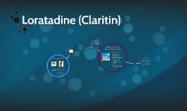 Loratadine (Claritin)