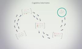 Copy of Cognitive Interviews