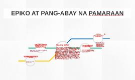 EPIKO AT PANG-ABAY NA PAMARAAN